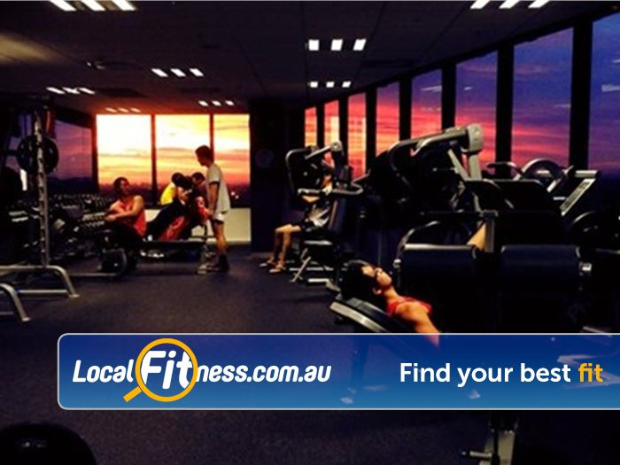 Anytime Fitness Near Mont Albert North The stunning sunset at Anytime Fitness Doncaster.