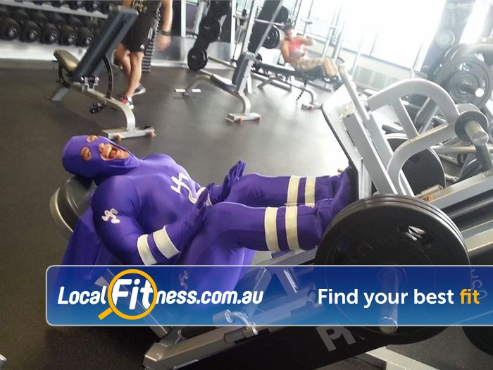 Anytime Fitness Blackburn North Gym Fitness Our Anytime Mascot showing how