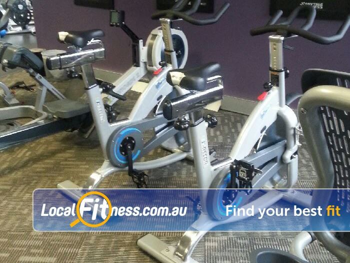 Anytime Fitness Doncaster Treadmills, cross trainers, rowers, cycle bikes and more.