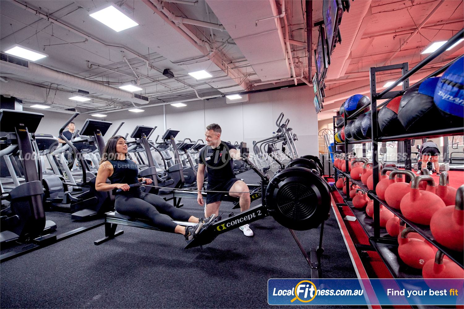 Fitness First Castle Hill Our Castle Hill gym team can challenge you with a HIIT rowing workout.