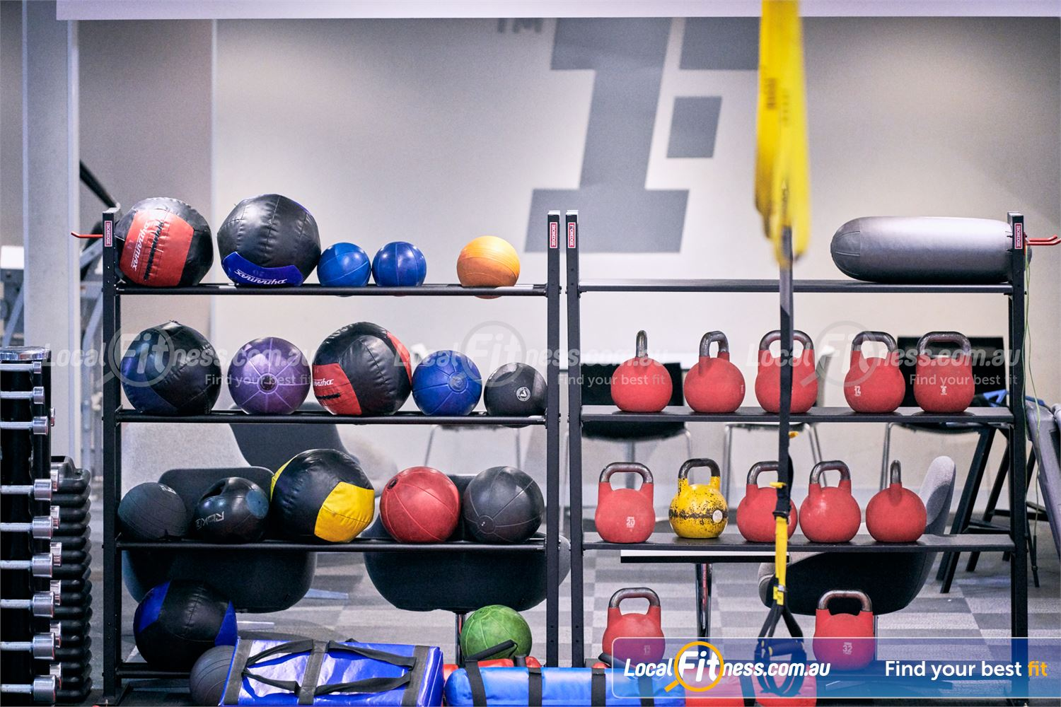 Fitness First Near Beaumont Hills Our Castle Hill HIIT gym is fully equipped for functional workouts.