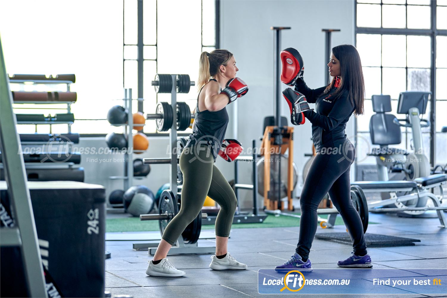 Fitness First Near Glenhaven Get a cardio boxing workout at Fitness First Castle Hill gym.