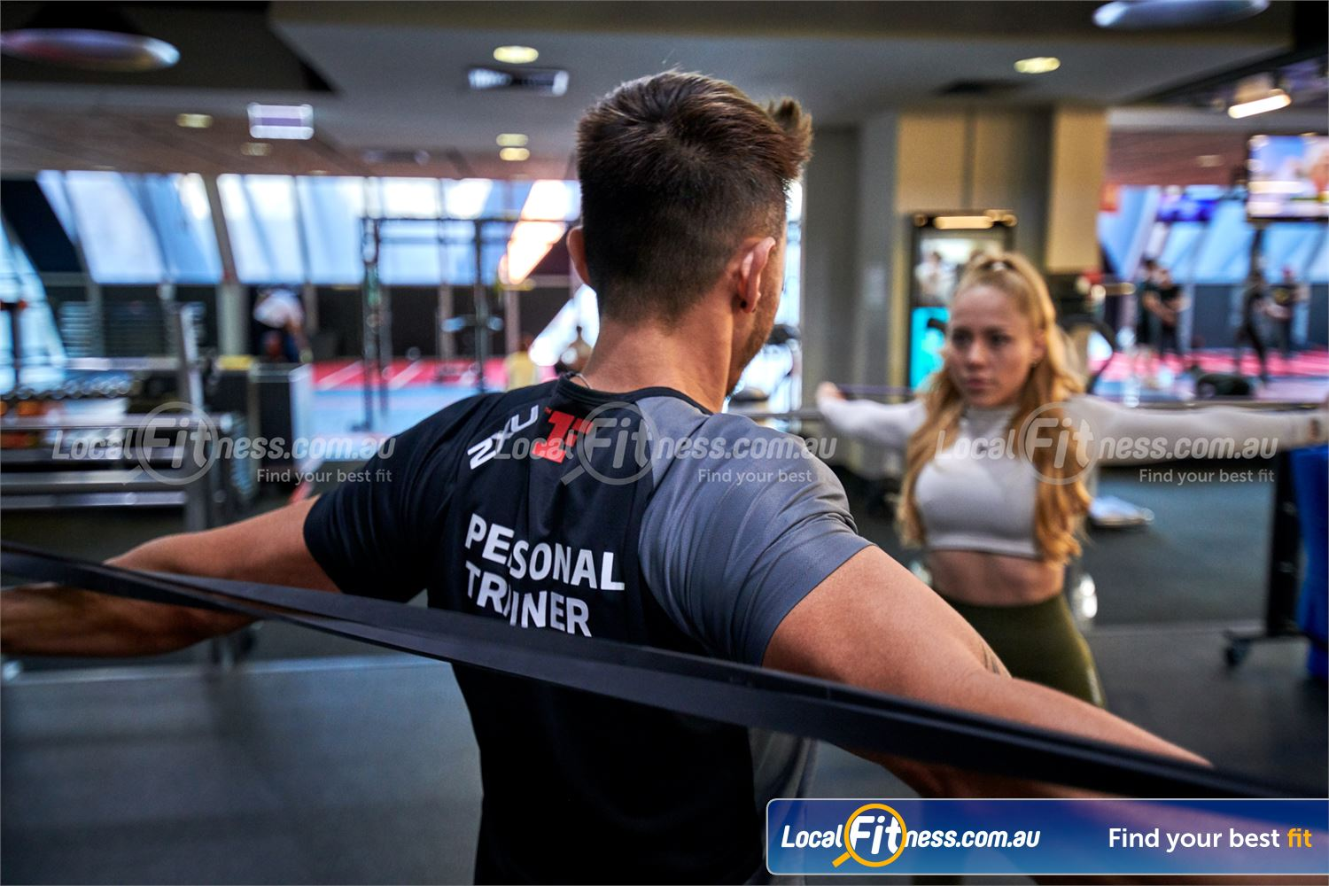 Fitness First Near Beaumont Hills Castle Hill personal trainers can help you improve your mobility.