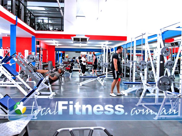 Adrenalin Gym Gym Frankston  | Comprehensive leg training area.