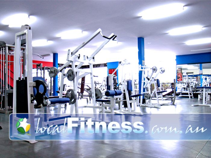 Adrenalin Gym Gym Frankston  | The spacious Mornington gym floor.