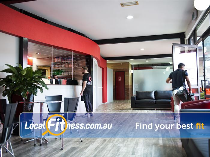 Re-Creation Health Clubs Keysborough Gym Fitness The spacious members entrance.