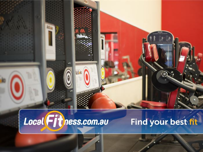 Re-Creation Health Clubs Near Waterways Get your abs ripped with our ab solo machine.