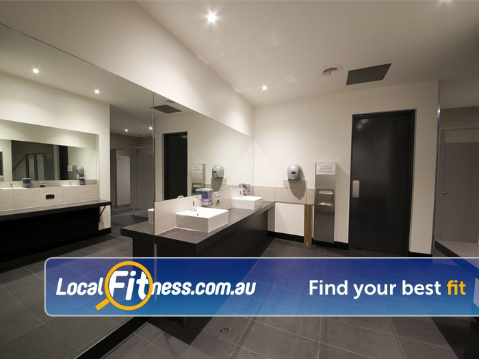 Re-Creation Health Clubs Keysborough Gym Fitness Enjoy our pristine change room