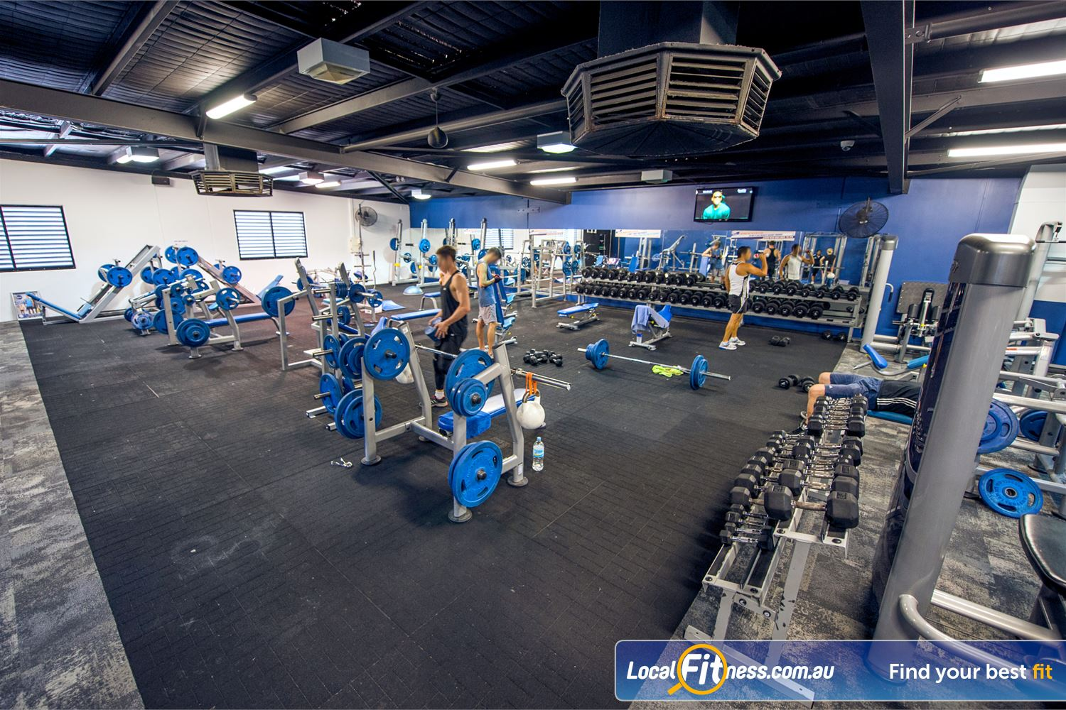 Goodlife Health Clubs Mount Lawley Our Mount Lawley gym includes a comprehensive range of dumbbells and barbells.