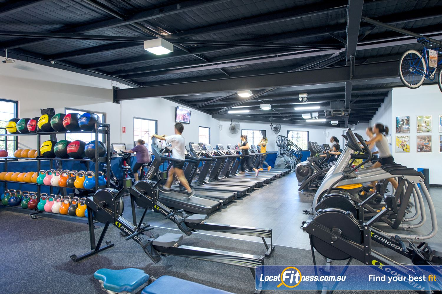Goodlife Health Clubs Near Inglewood Goodlife Mount Lawley gym provides multiple machines so you don't have to wait.