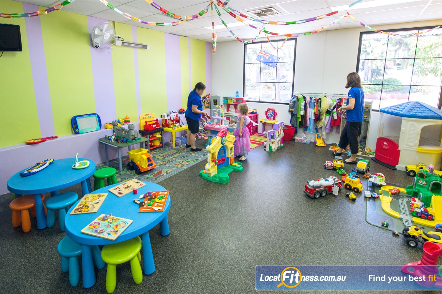 Goodlife Health Clubs Mount Lawley Goodlife Mount Lawley provides on-site child minding services