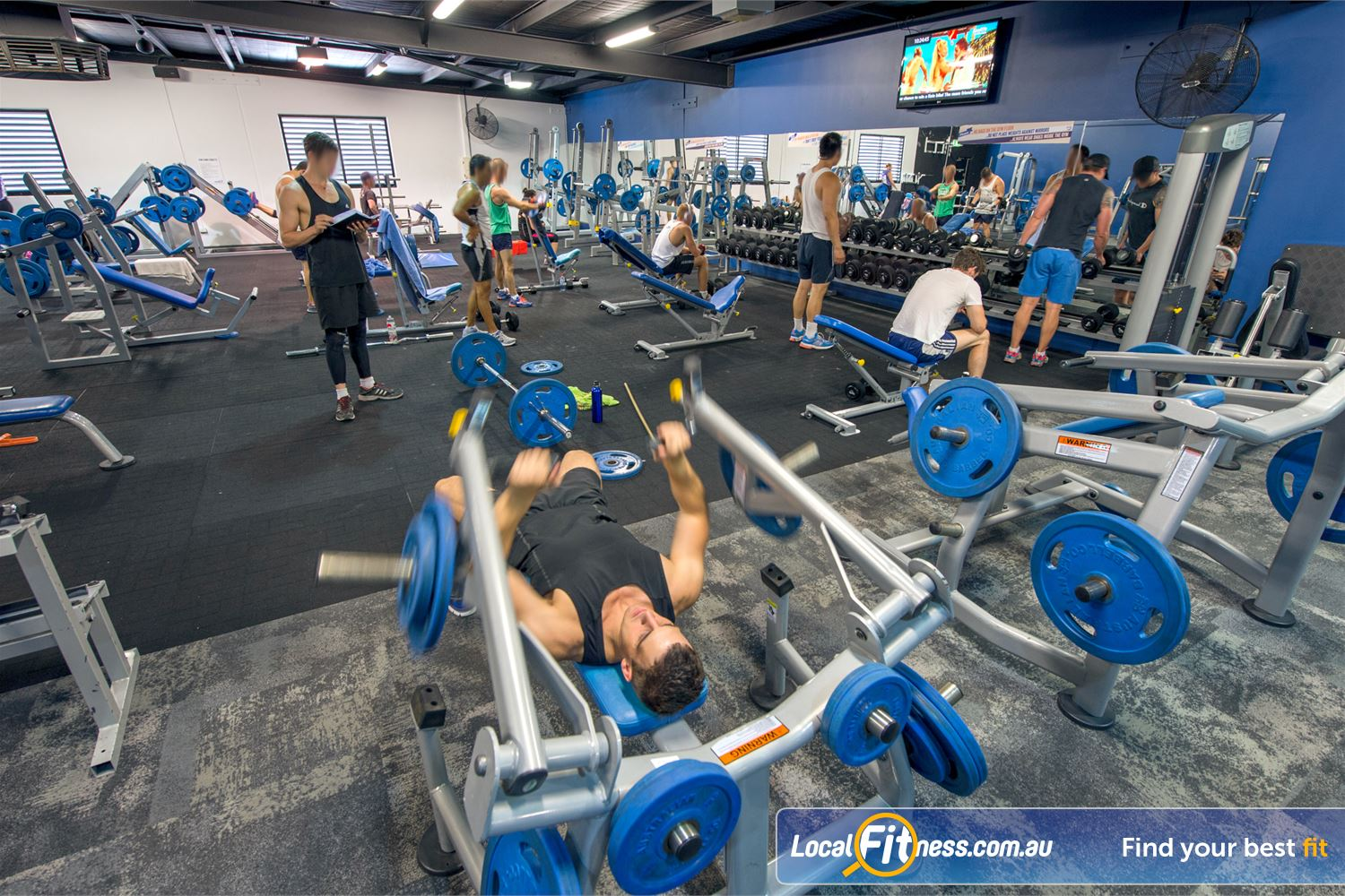 Goodlife Health Clubs Near Inglewood At our Mount Lawley gym, pick from a large selection of free-weights.