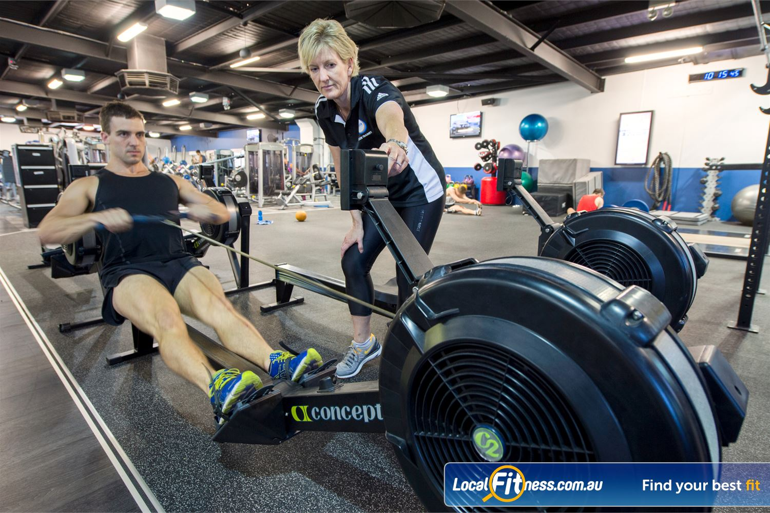 Goodlife Health Clubs Mount Lawley Our Mount Lawley gym team can help vary your cardio and include indoor rowing.