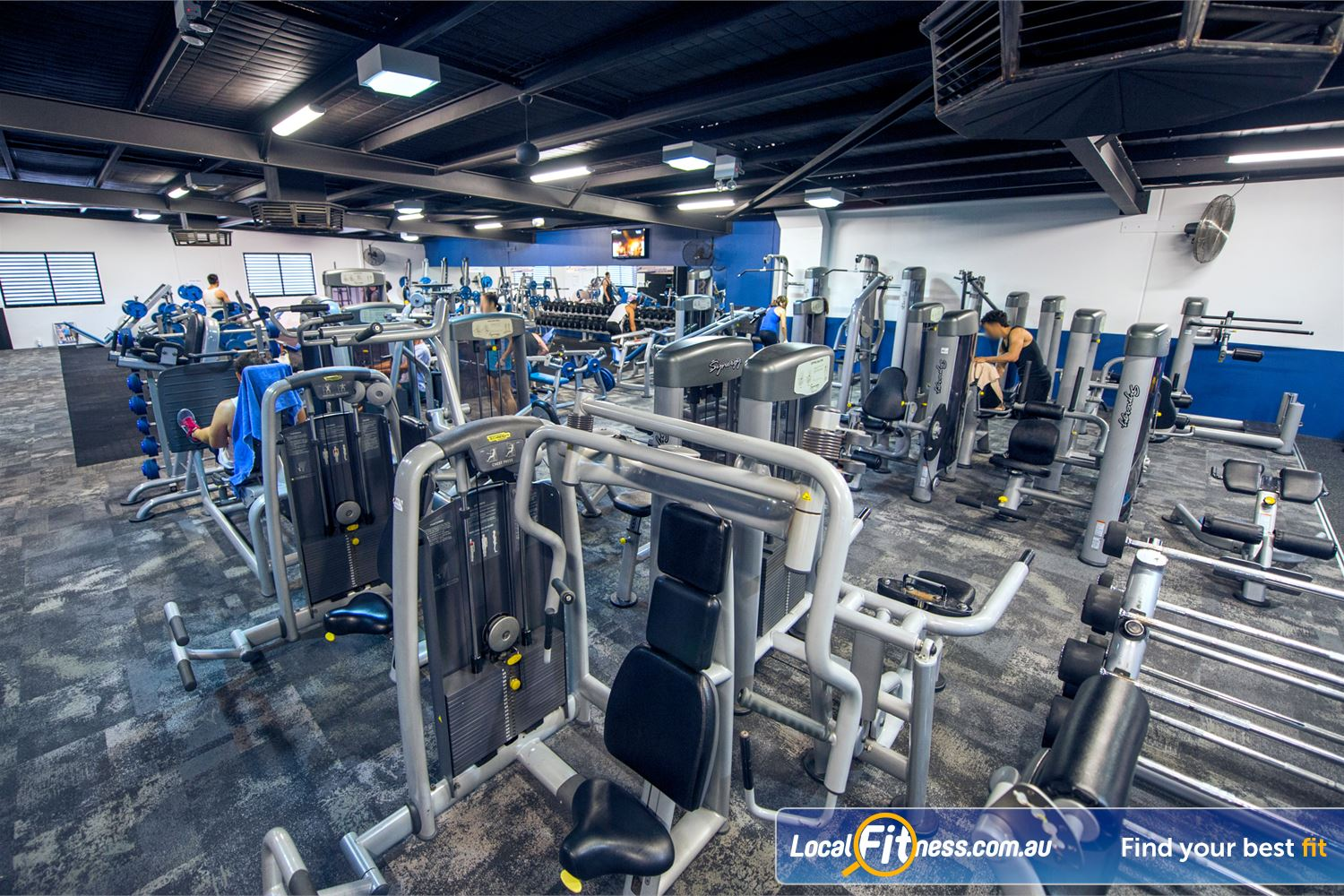 Goodlife Health Clubs Near Inglewood The Mount Lawley gym includes an extensive selection of equipment from Technogym.