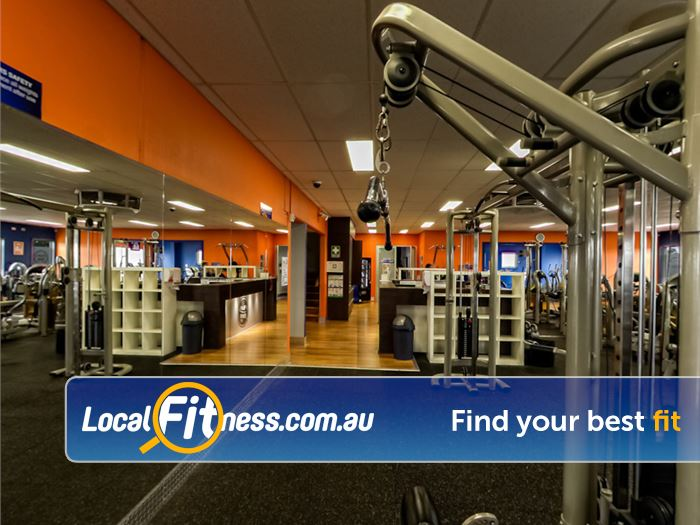 Plus Fitness 24/7 24 Hour Gym Rosanna    A full range of easy to use pin-loading