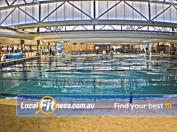 Moss Vale Aquatic Centre Gym Moss Vale  | The 25 m indoor Moss Vale swimming pool.
