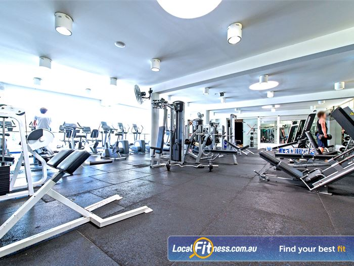 Victoria Park Pool Gym Darlinghurst  | The state of the art Camperdown gym at