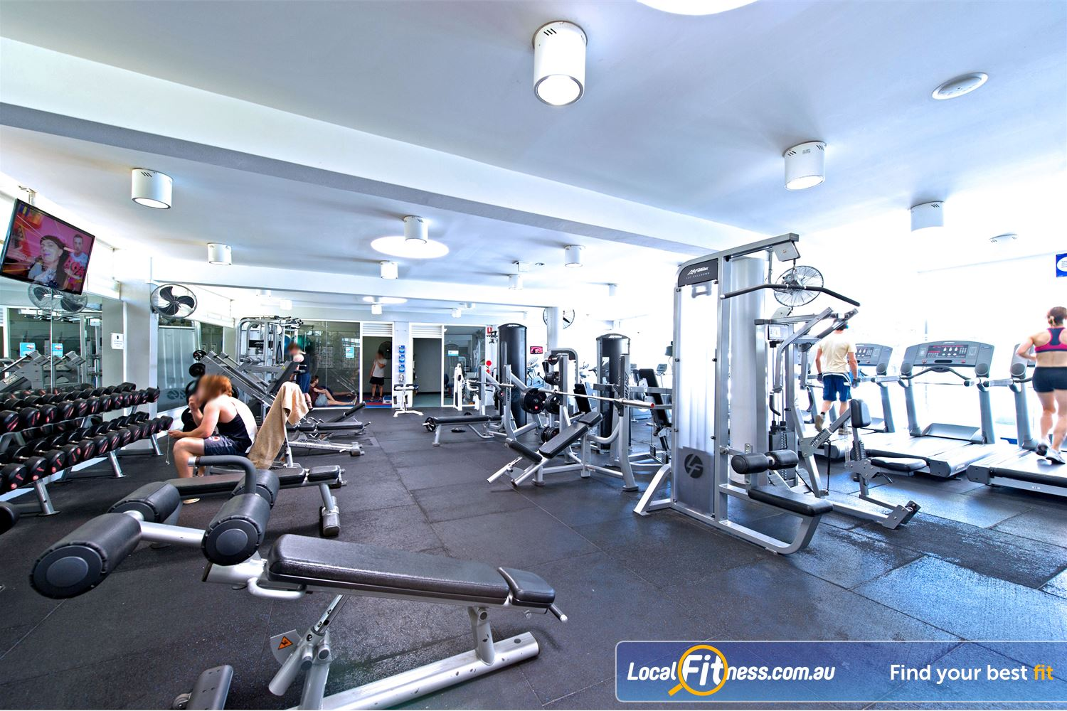 Victoria Park Pool Camperdown Enjoy the best equipment from Life Fitness and Hammer Strength.