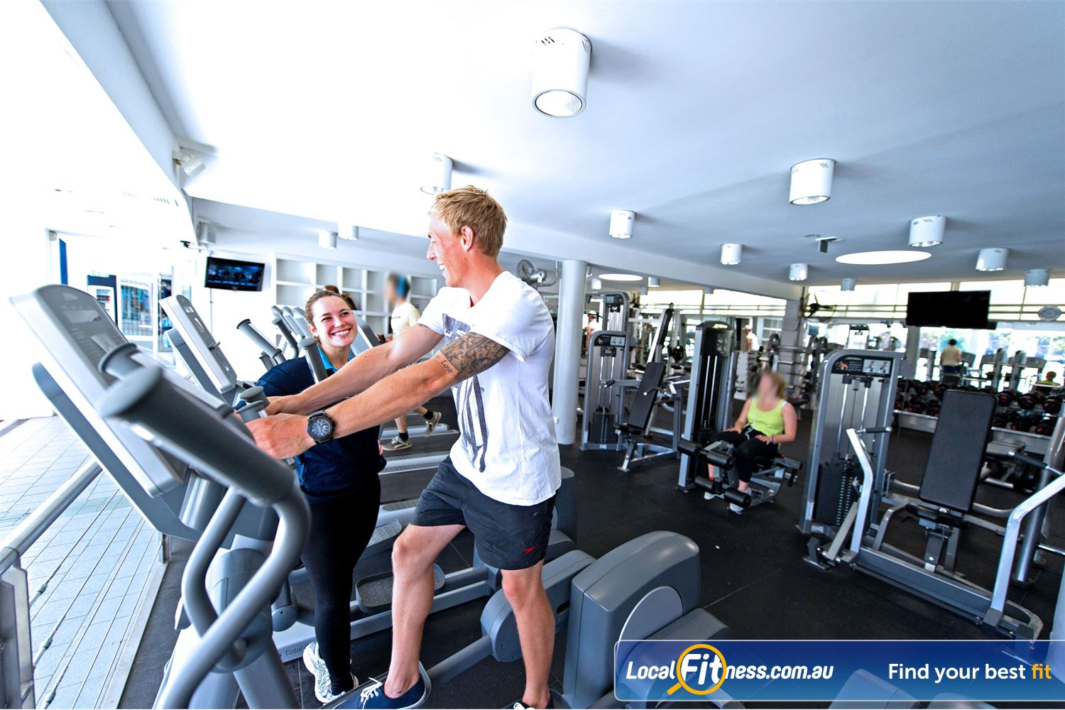 Victoria Park Pool Camperdown Ask our gym instructors about incorporating cardio training into your workout.