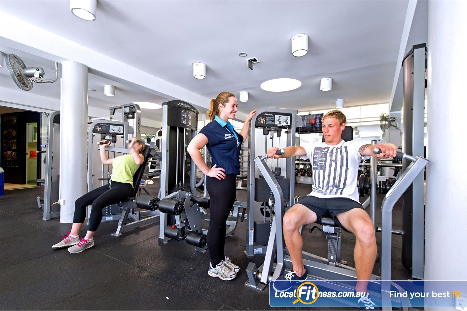 Victoria Park Pool Near Summer Hill Camperdown gym instructors will get you on your weight-loss journey.