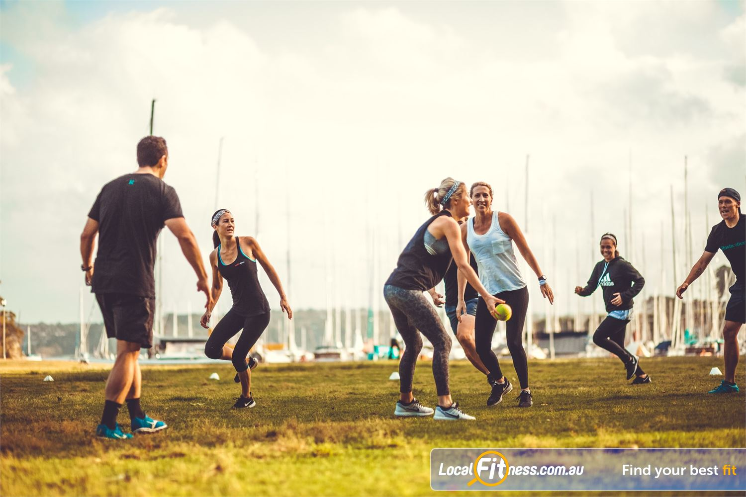 Rushcutters Health Rushcutters Bay Experience outdoor classes in the beautiful Rushcutters Bay park.