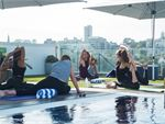 Our outdoor classes include Rushcutters Bay Yoga.