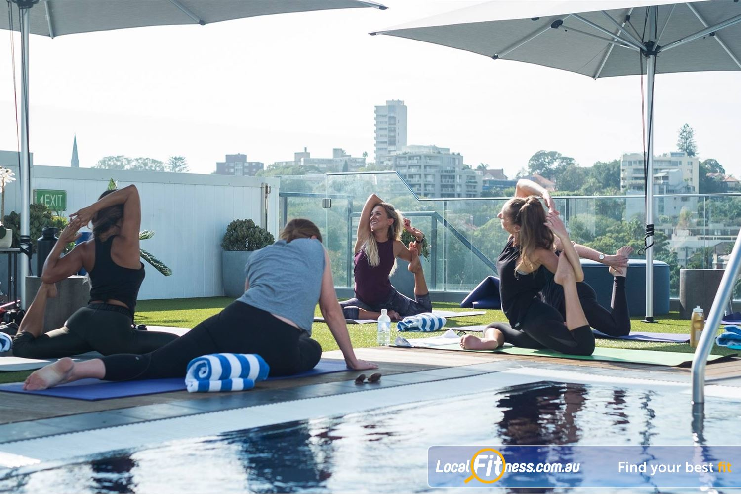 Rushcutters Health Near Paddington Our outdoor classes include Rushcutters Bay Yoga.