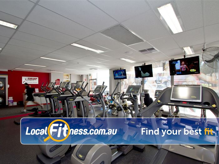 Snap Fitness East Victoria Park In our 24 hour Victoria Park gym, you can tune into your favourite shows.