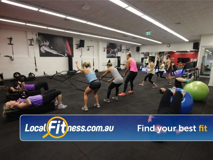 Re-Creation Health Clubs HIIT Melbourne  | Battle ropes, TRX, kettlebell training and more.