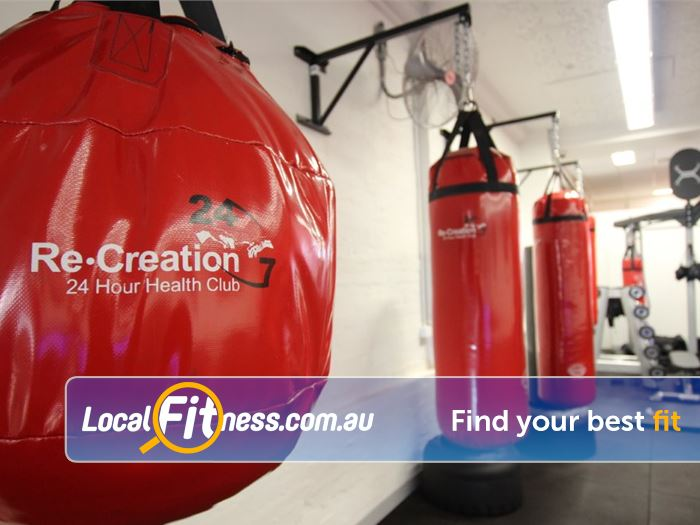 Re-Creation Health Clubs HIIT Melbourne  | Get into Boxing at Re-Creation Malvern.