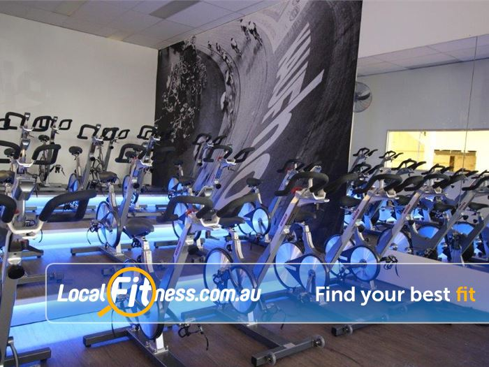 Re-Creation Health Clubs Gym Carnegie  | Welcome to the Velodrome our unique Malvern spin