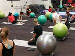 Over 60 group fitness classes per week.