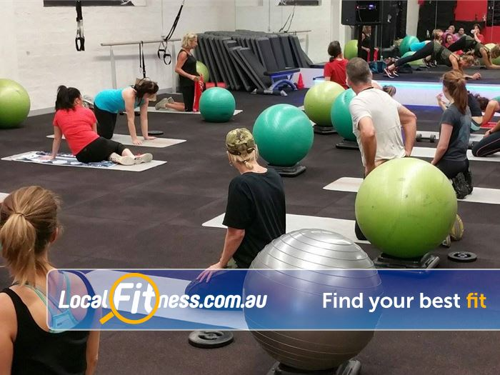 Re-Creation Health Clubs Caulfield East Gym Fitness Over 60 group fitness classes