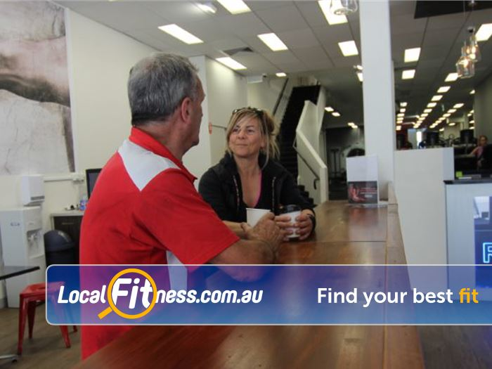 Re-Creation Health Clubs Caulfield East Gym Fitness Enjoy a cafe quality coffee