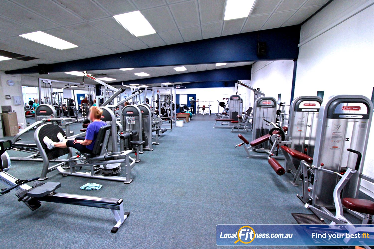 East Keilor Leisure Centre Keilor East Our Keilor East gym is fully equipped with the latest strength training equipment.