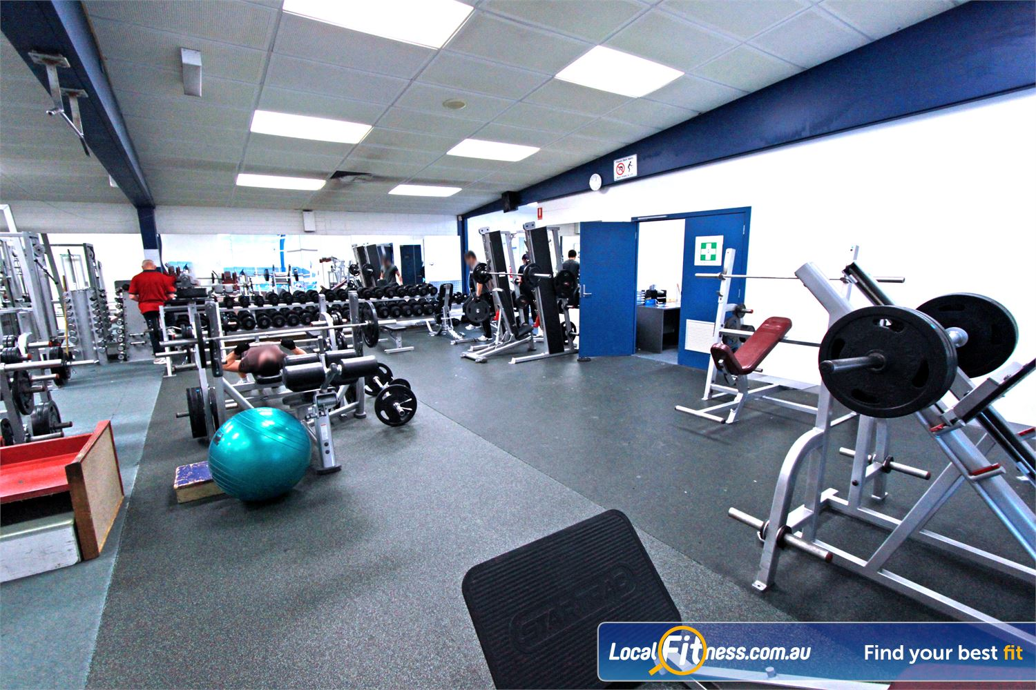 East Keilor Leisure Centre Near Keilor Park The gym area includes dumbbells, barbells and more.