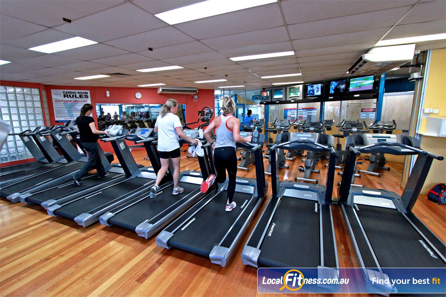 East Keilor Leisure Centre Near Airport West Our East Keilor gym includes a spacious cardio theatre.