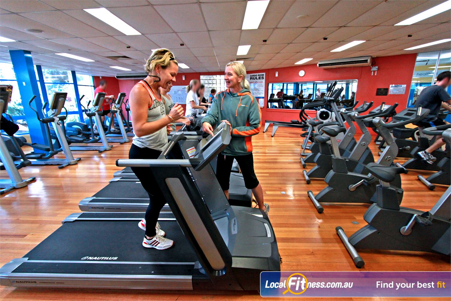 East Keilor Leisure Centre Keilor East East Keilor gym instructors who are eager to help with your weight-loss and cardio goals.