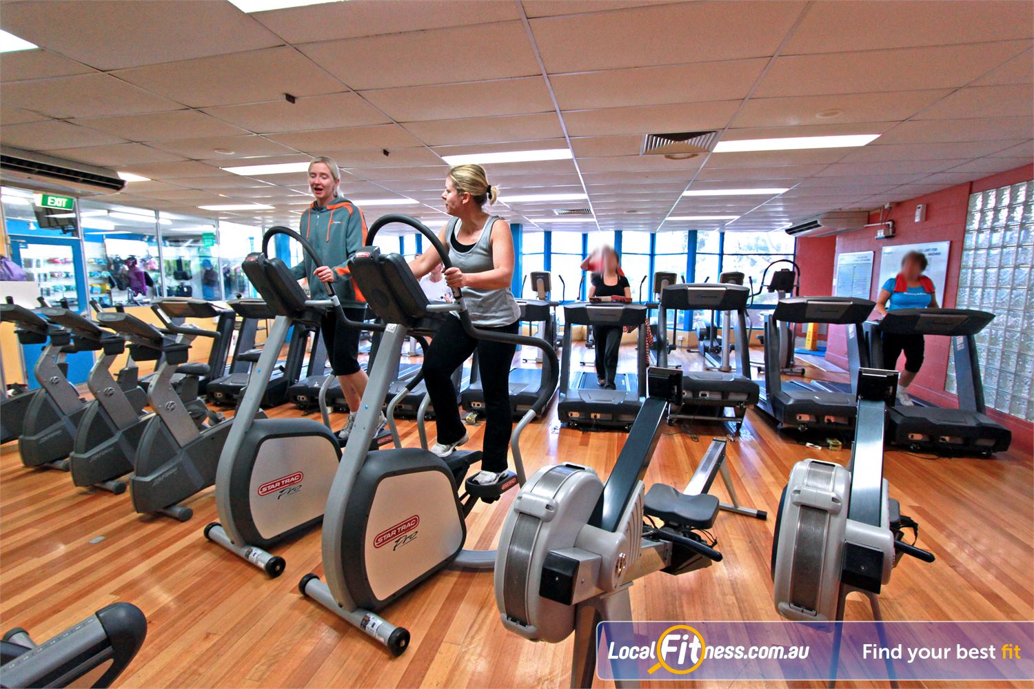 East Keilor Leisure Centre Near Niddrie Enjoy variety with cycle bikes, rowers, steppers and more.