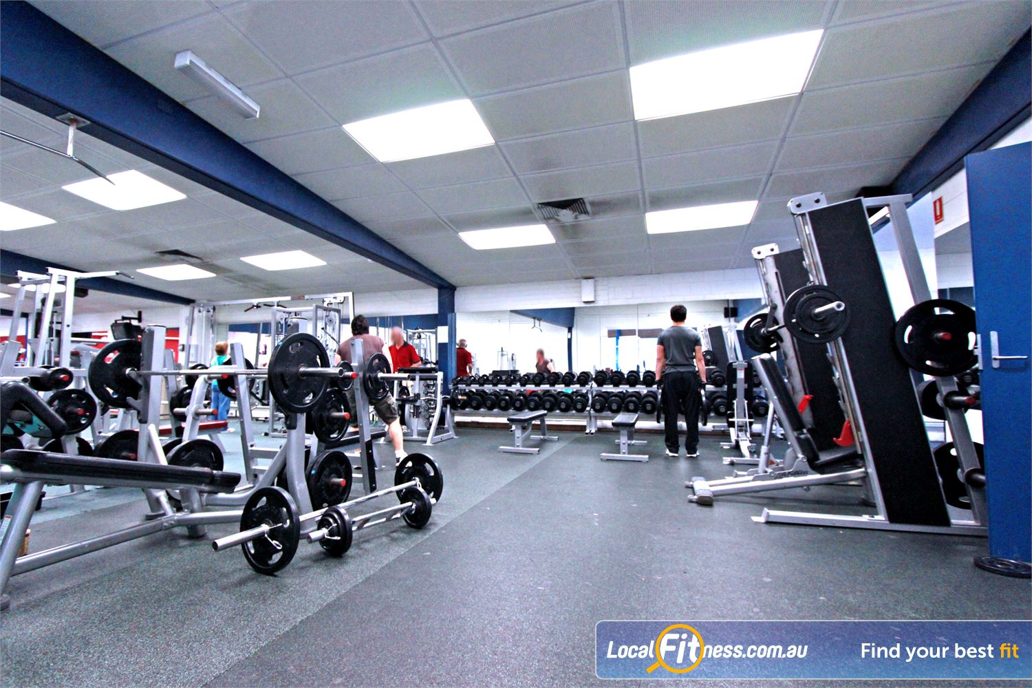 East Keilor Leisure Centre Near Keilor Park Our East Keilor gym includes a comprehensive free-weights selection.