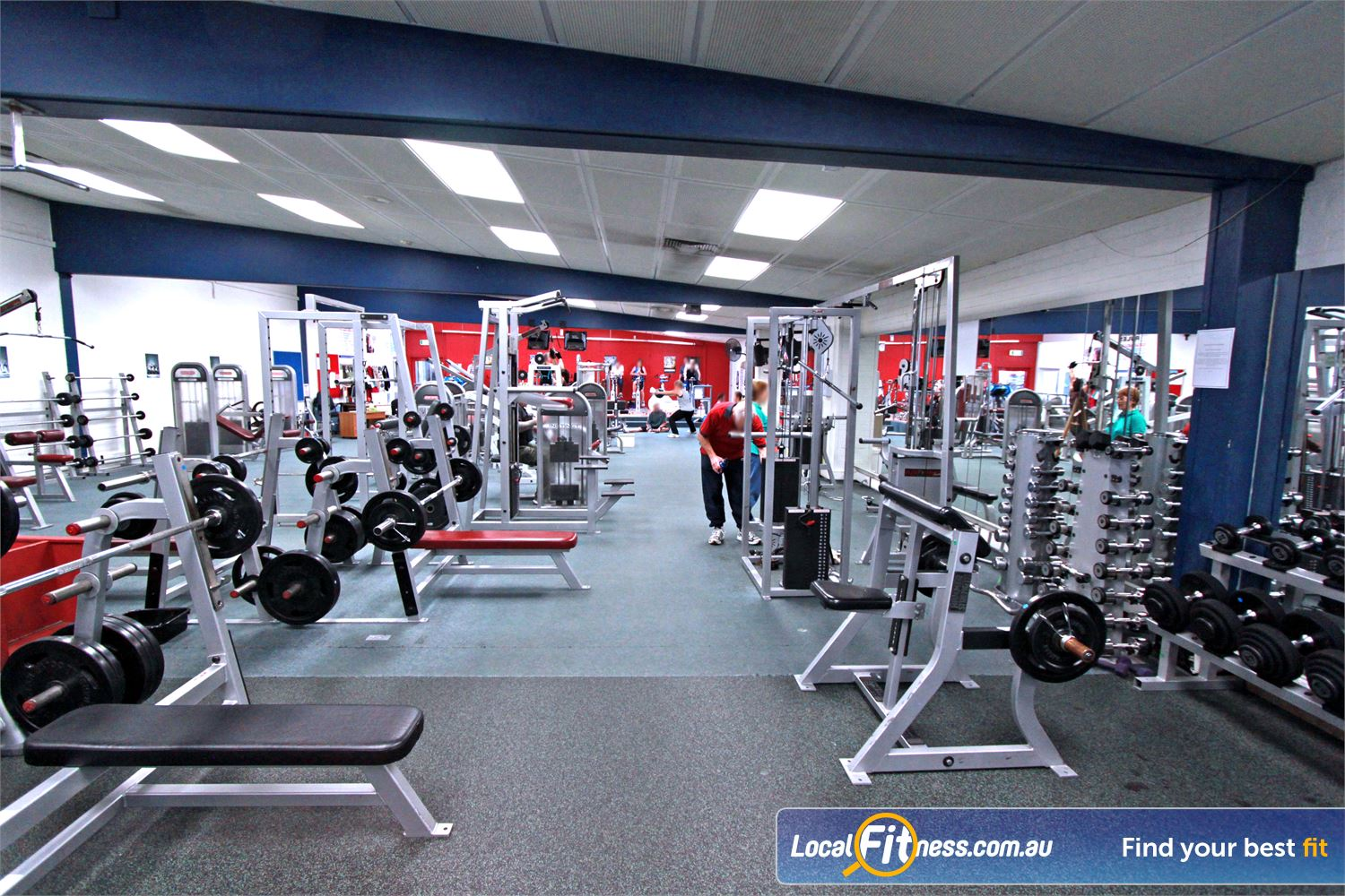 East Keilor Leisure Centre Near Niddrie A full range of easy to use plate loading machines and benches.