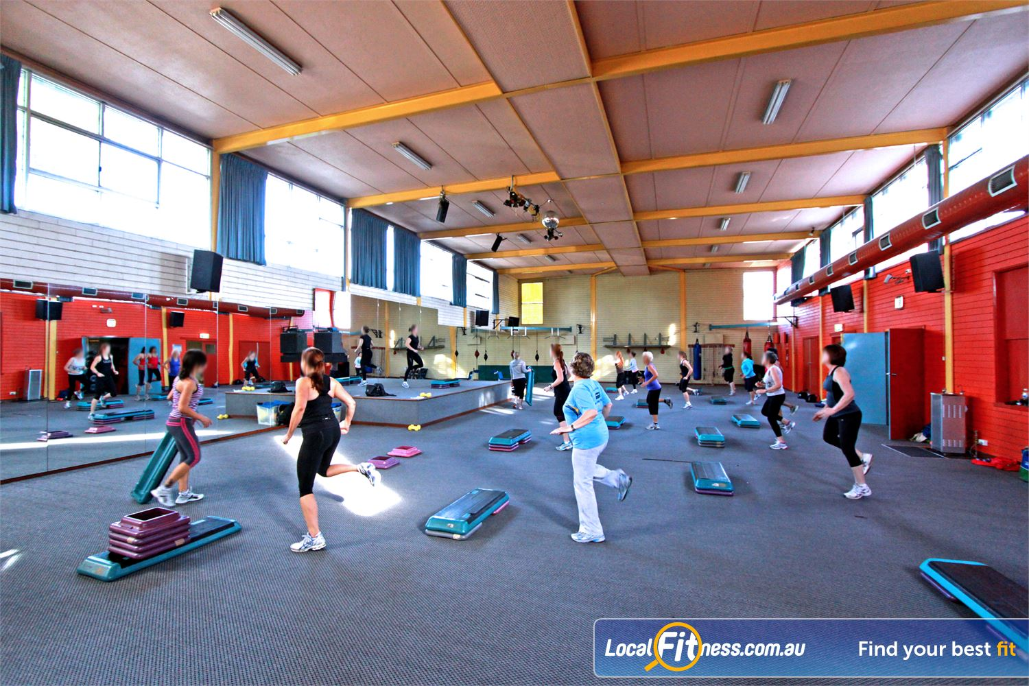 East Keilor Leisure Centre Keilor East The spacious and dedicated East Keilor group fitness studio.