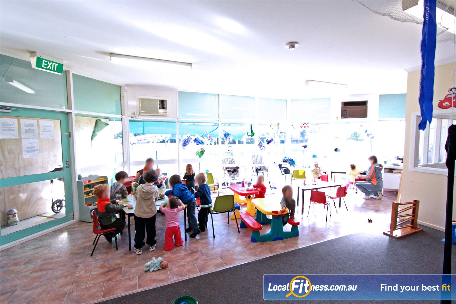 East Keilor Leisure Centre Keilor East While you enjoy our fitness facilities, professional staff will take care of your kids.