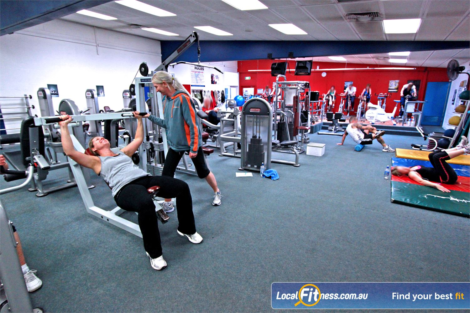 East Keilor Leisure Centre Keilor East Our friendly East Keilor personal trainers will help you reach your strength goals.