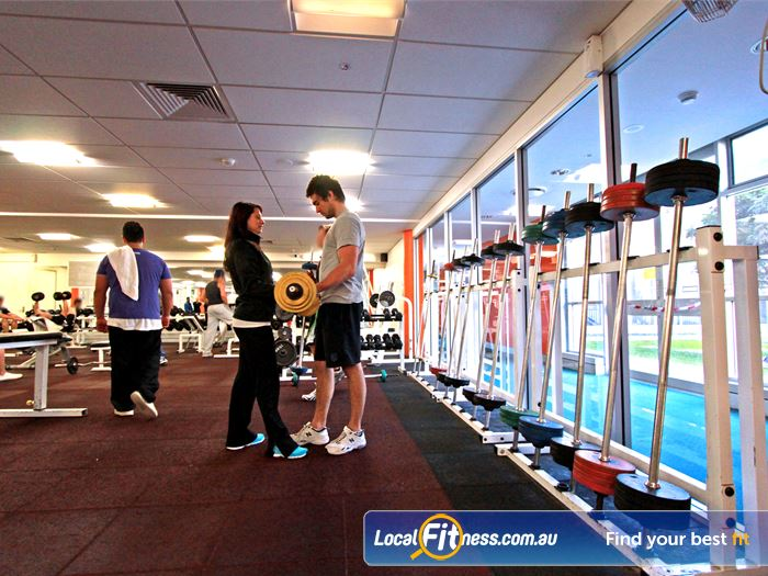 Macquarie University Sport & Aquatic Centre Gym Meadowbank  | Welcome to our spacious Macquarie University gym.