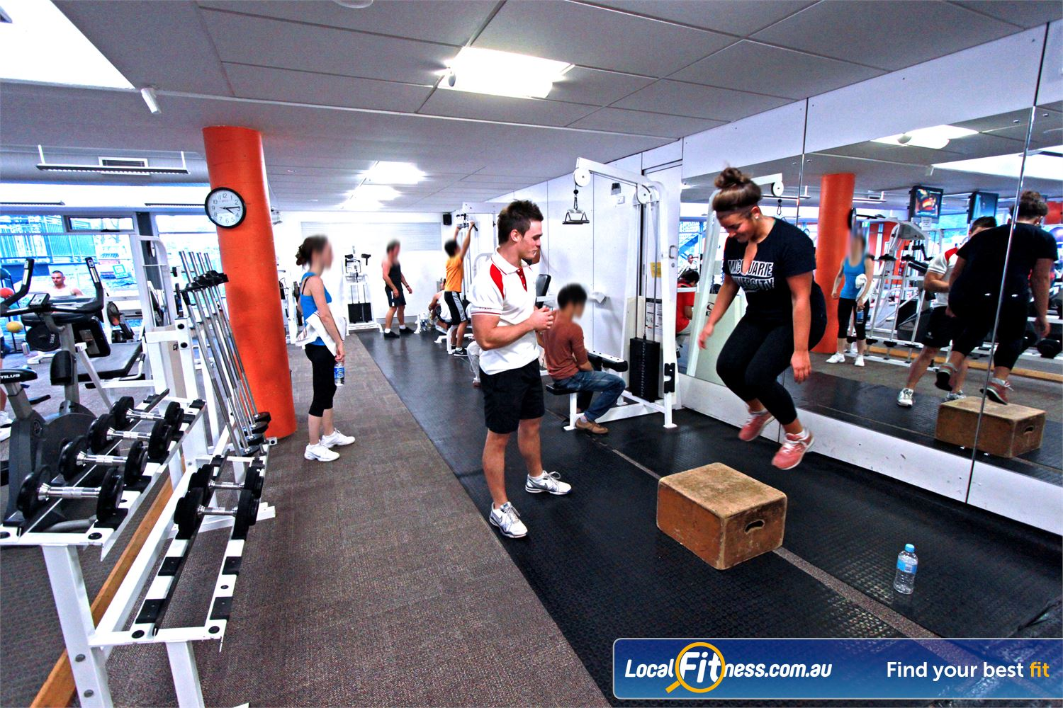 Macquarie University Sport & Aquatic Centre Macquarie Park An extensive range of equipment, perfect for strength sport athletes.