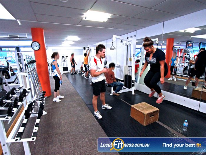Macquarie University Sport & Aquatic Centre Gym Pennant Hills    An extensive range of equipment, perfect for strength