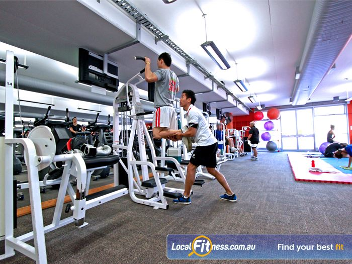 Macquarie University Sport & Aquatic Centre Gym Gladesville  | Our Macquarie University gym is fully equipped with