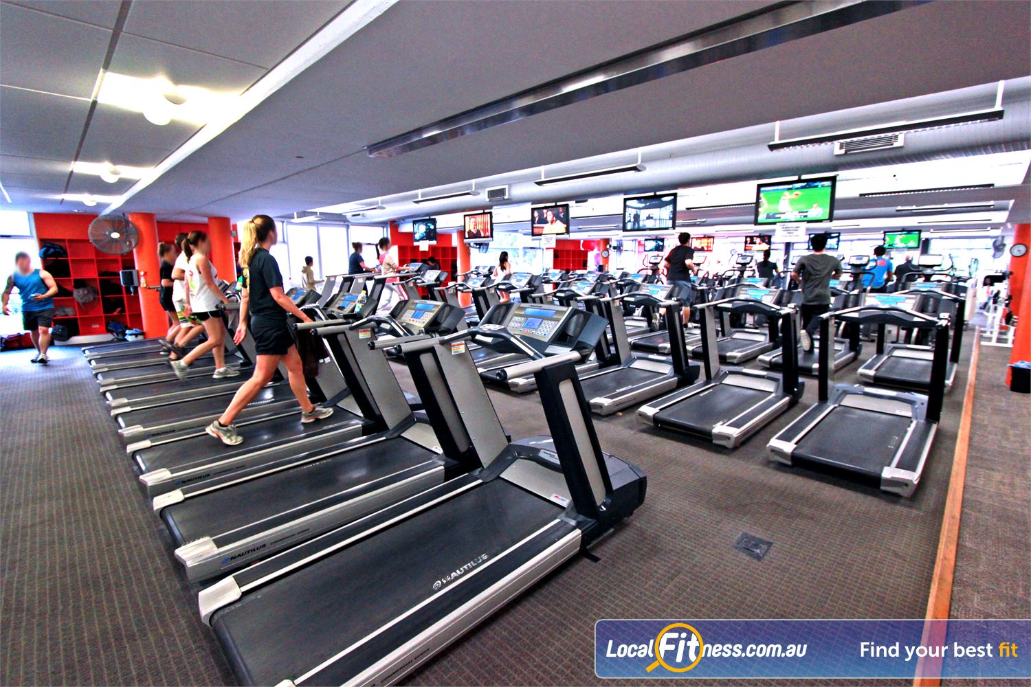 Macquarie University Sport & Aquatic Centre Near North Epping At our Macquarie University gym, enjoy your favourite program on one of our large LCD televisions.