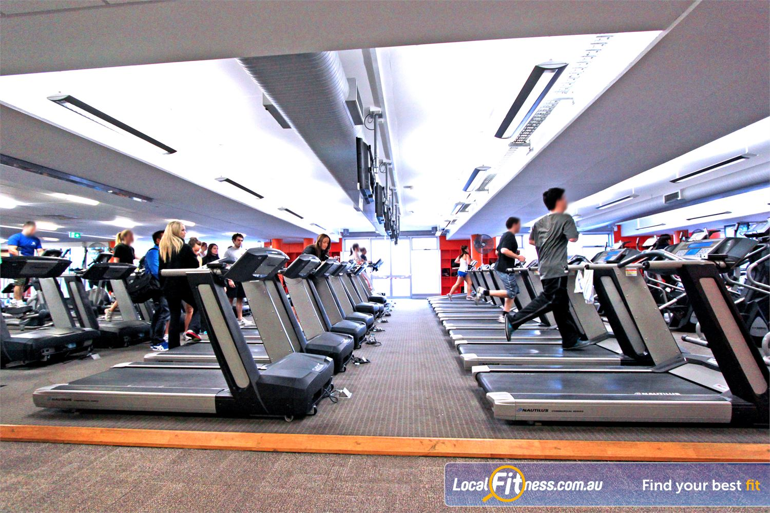Macquarie University Sport & Aquatic Centre Near North Ryde Our Macquarie University gym provides a massive cardio theatre with more than 50 pieces.